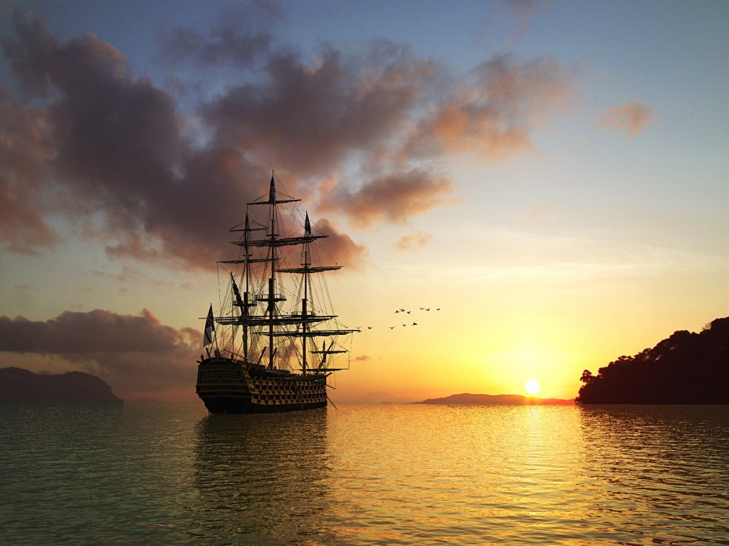 sailing ship image 1600X1200