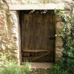 Christ standing at the door