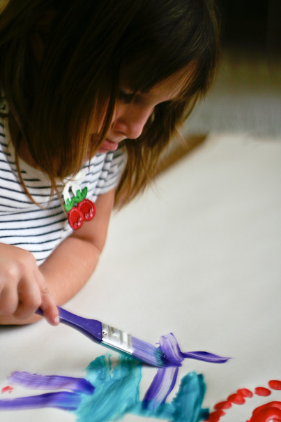 creative young painter