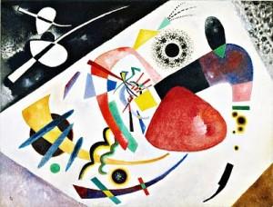 Wassily Kandinsky Red Spot II 1921