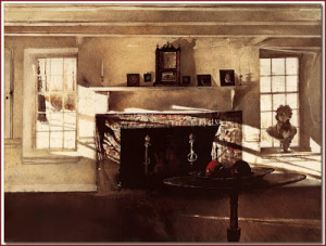 wyeth, andrew big room 1948