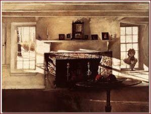 wyeth, andrew big room 1948